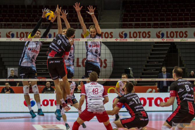 Lotos Trefl Gdansk Asseco Resovia – Photo Jakub Woźniak-18