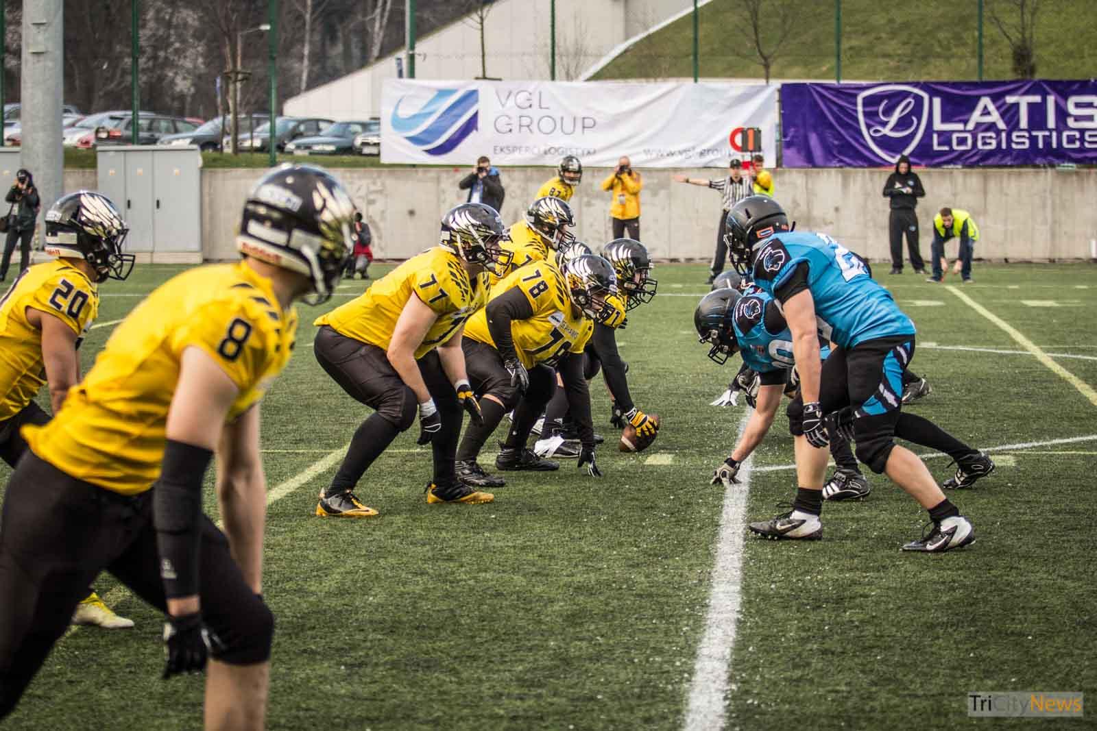 Seahawks Gdynia Panthers Wroclaw Photo Jakub Woźniak