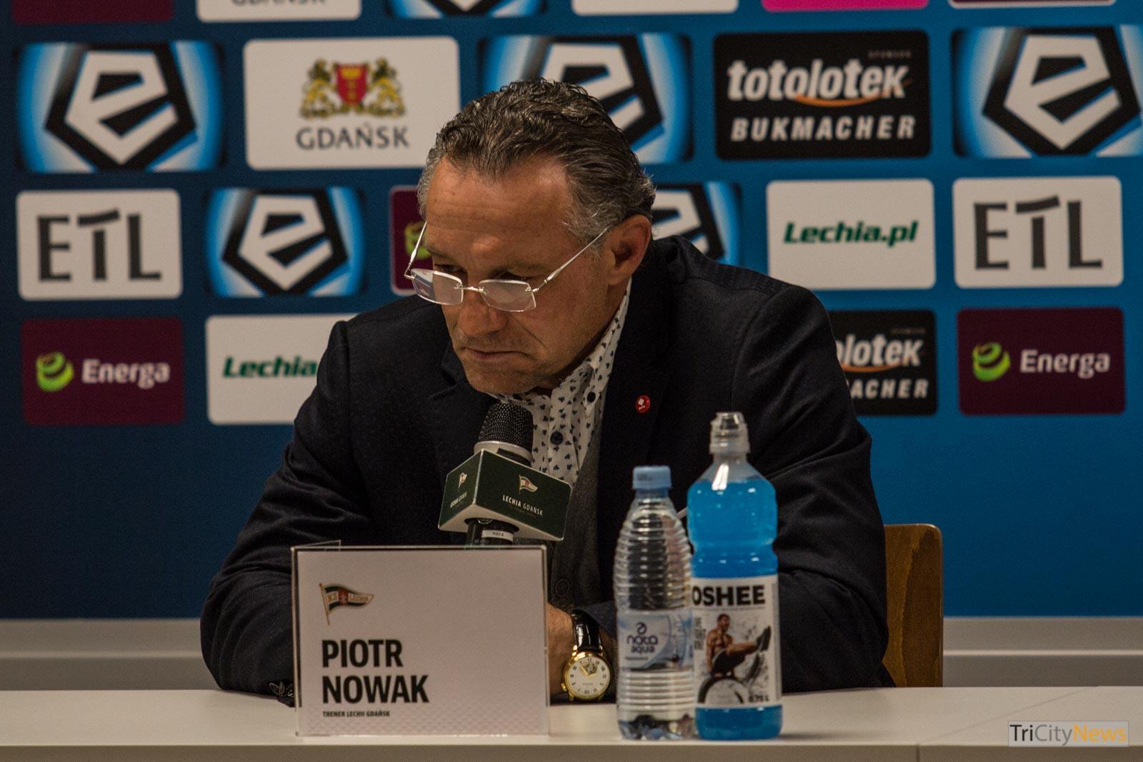 Piotr Nowak - Lechia Gdansk coach, Photo: Jakub Woźniak/Tricity News