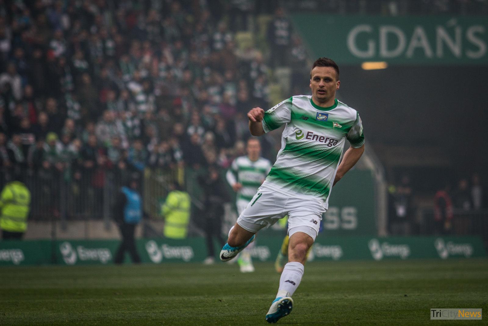 Slawomir Peszko at Tricity Derby, Photo: Jakub Wozniak/Tricity News