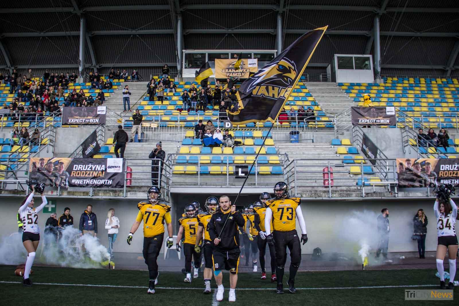 Seahawks Gdynia- Wroclaw Outlaws, photo Jakub Woźniak/Tricity News