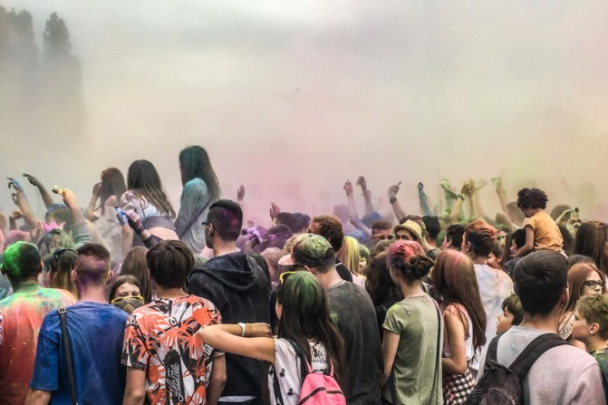 Festival of colors in Gdansk Photo- Julia Kozlowska-Tricity News-4
