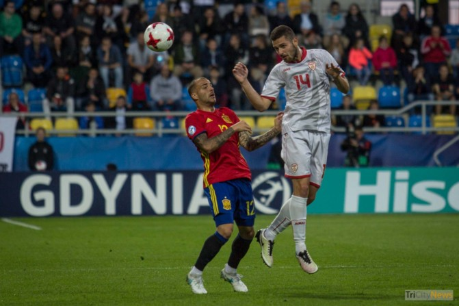 UEFA U21 European Championship, Spain – Macedonia, Photo Jakub Wozniak Tricity News-12