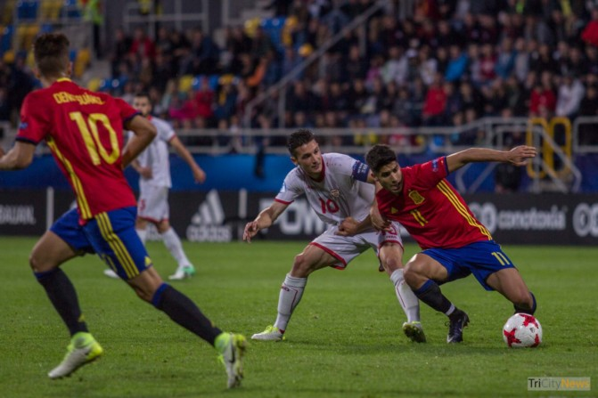 UEFA U21 European Championship, Spain – Macedonia, Photo Jakub Wozniak Tricity News-20