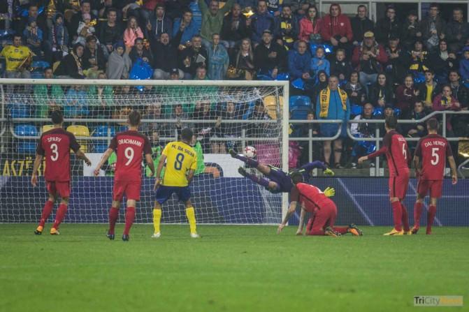 Arka Gdynia – FC Midtjylland photo Jakub Wozniak Tricity News-21