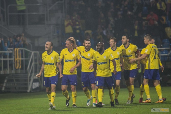 Arka Gdynia – FC Midtjylland photo Jakub Wozniak Tricity News-22