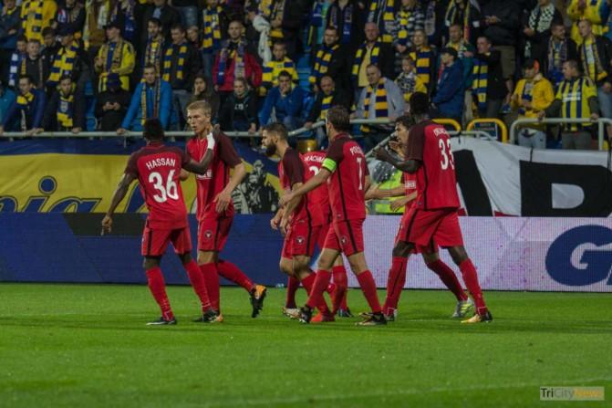 Arka Gdynia – FC Midtjylland photo Jakub Wozniak Tricity News-23