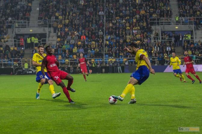 Arka Gdynia – FC Midtjylland photo Jakub Wozniak Tricity News-25