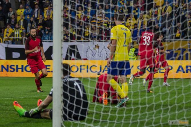 Arka Gdynia – FC Midtjylland photo Jakub Wozniak Tricity News-27