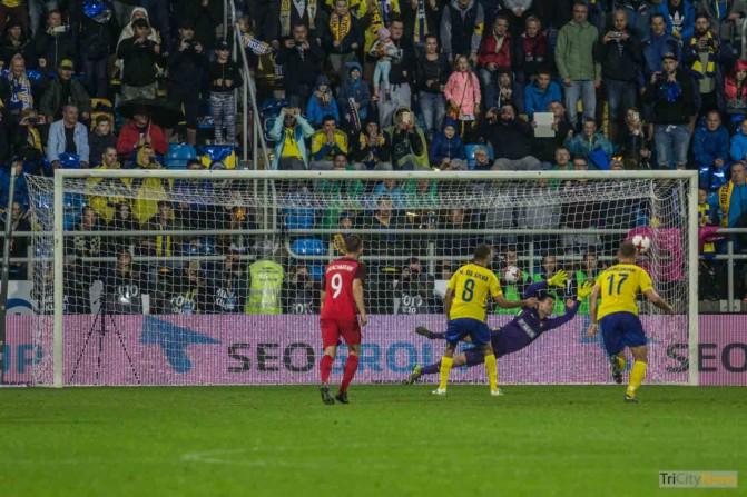 Arka Gdynia – FC Midtjylland photo Jakub Wozniak Tricity News-28