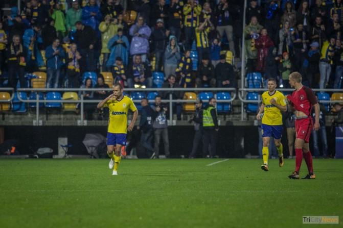 Arka Gdynia – FC Midtjylland photo Jakub Wozniak Tricity News-29