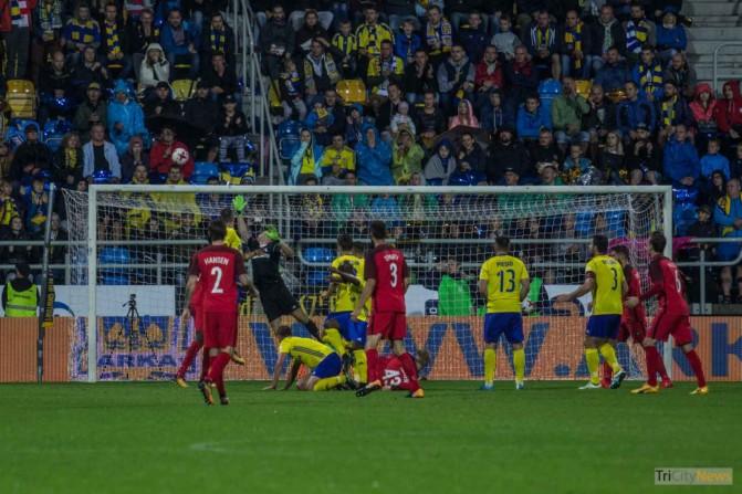 Arka Gdynia – FC Midtjylland photo Jakub Wozniak Tricity News-39