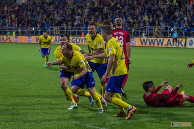 Arka Gdynia – FC Midtjylland photo Jakub Wozniak Tricity News-49