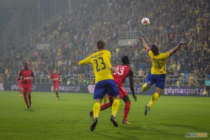 Arka Gdynia – FC Midtjylland photo Jakub Wozniak Tricity News-8