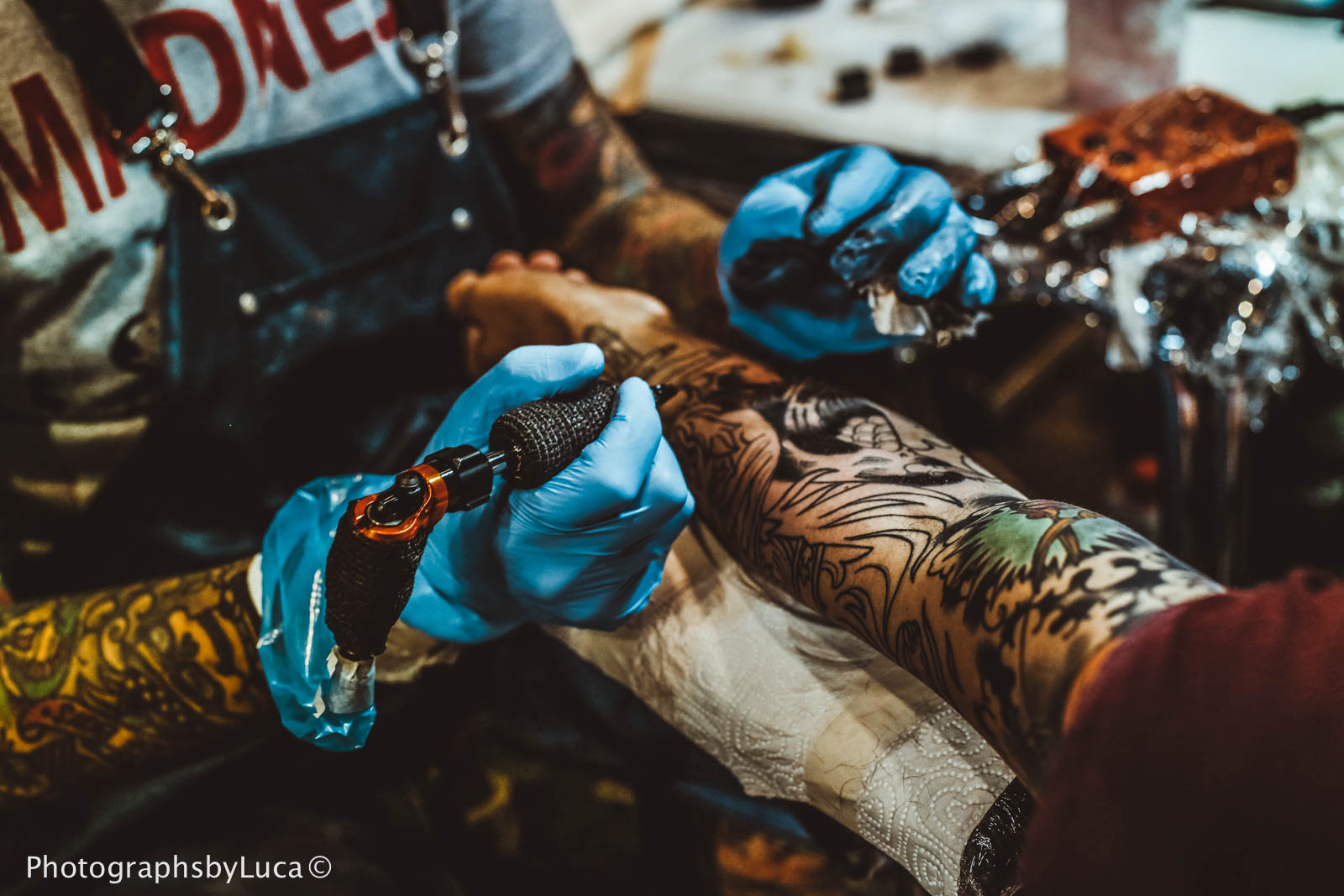 Gdansk Tattoo Convention 2017, photo: Luca Aliano/PhotographsbyLuca