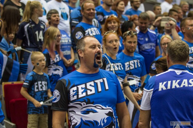 Eurovolley 2017 Finland Estonia fans Photo Jakub Wozniak Tricity News-10