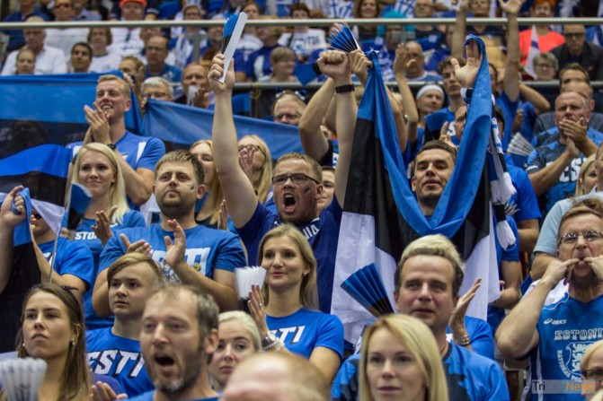Eurovolley 2017 Finland Estonia fans Photo Jakub Wozniak Tricity News-14