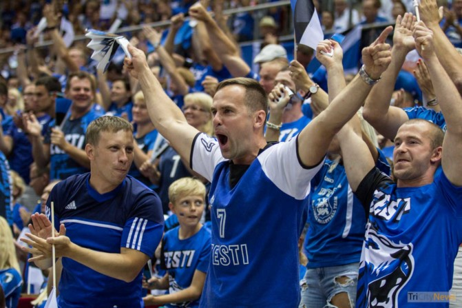 Eurovolley 2017 Finland Estonia fans Photo Jakub Wozniak Tricity News-16