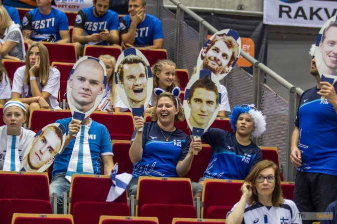 Eurovolley 2017 Finland Estonia fans Photo Jakub Wozniak Tricity News-18