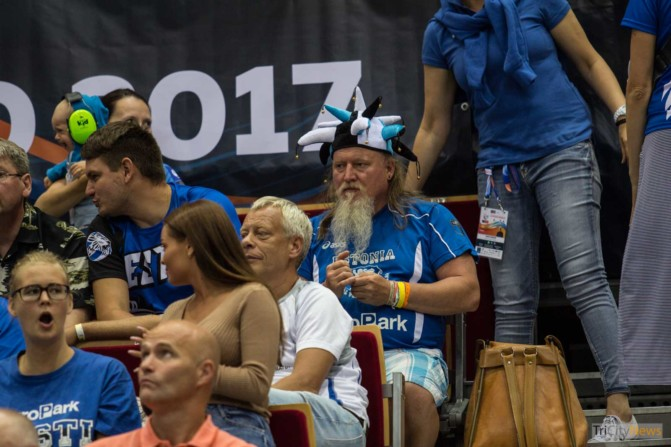 Eurovolley 2017 Finland Estonia fans Photo Jakub Wozniak Tricity News-21