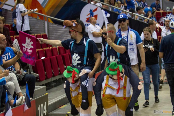 Eurovolley 2017 Finland Estonia fans Photo Jakub Wozniak Tricity News-23