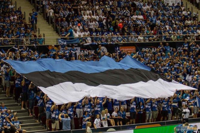 Eurovolley 2017 Finland Estonia fans Photo Jakub Wozniak Tricity News-5