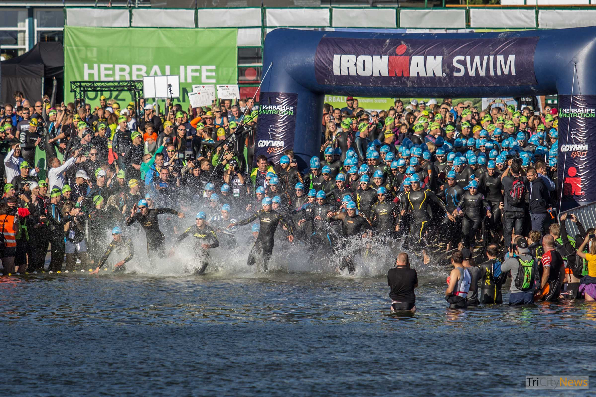 Herbalife Ironman Triathlon Gdynia 2016, photo: Jakub Woźniak/Tricity News