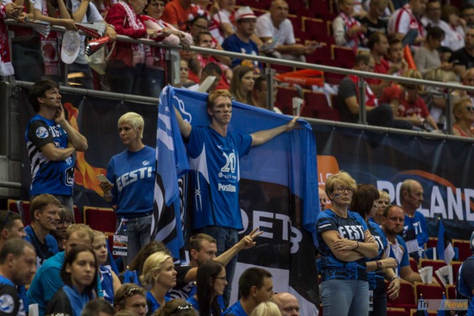 Lotto Eurovolley 2017 Poland – Estonia fans photo Jakub Wozniak Tricity News-3