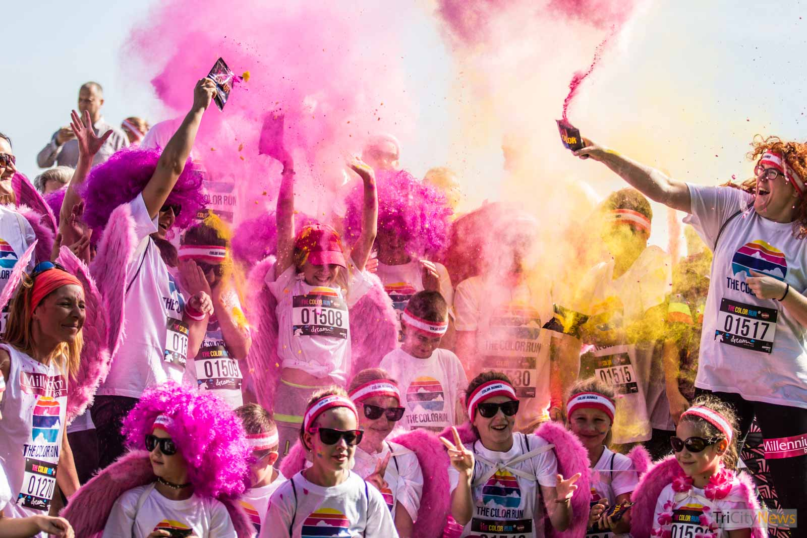 The Color Run by Skittles, photo: Jakub Wozniak/Tricity News