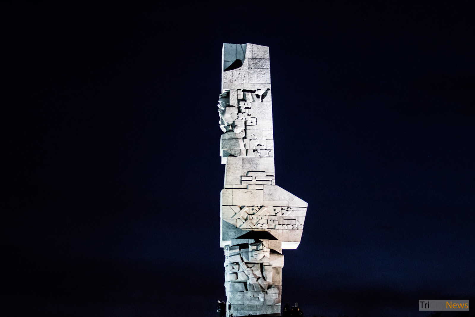 The monument at Westerplatte, Photo: Jakub Wozniak/Tricity News