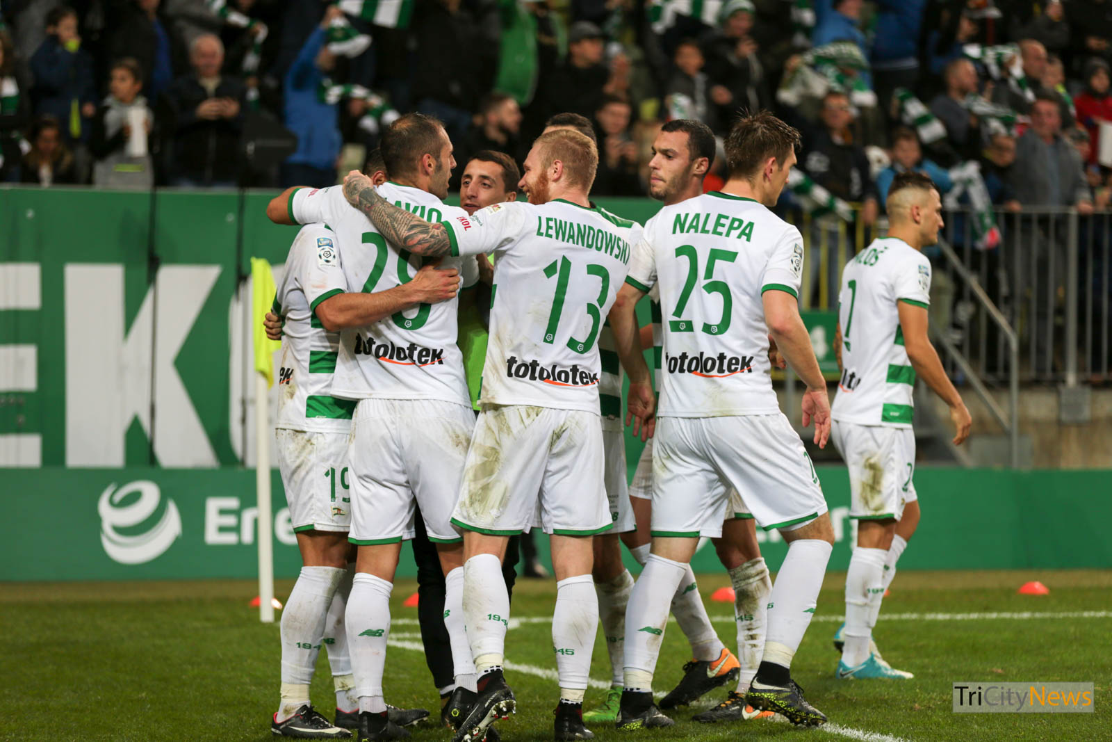 Lechia Gdansk home match photo: Luca Aliano/Tricity News