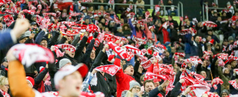 Polish football fans, photo: Luca Aliano/Tricity News