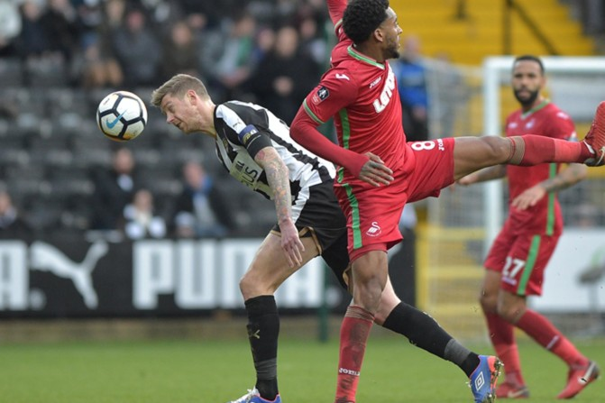 Notts County v Swansea City – FA Cup-10
