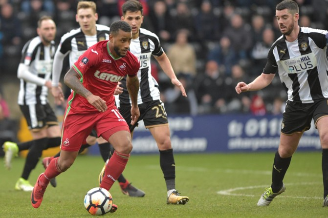 Notts County v Swansea City – FA Cup-11