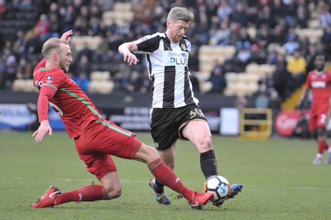 Notts County v Swansea City – FA Cup-26