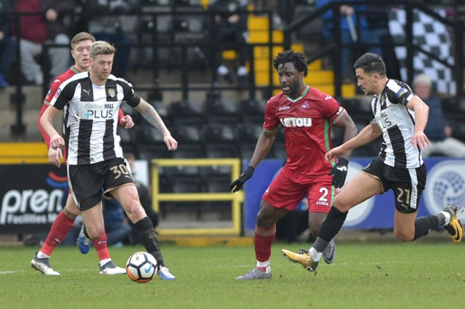 Notts County v Swansea City – FA Cup-9