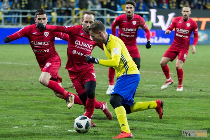 Arka Gdynia Piast Gliwice photo Luke Aliano Tricity News-26