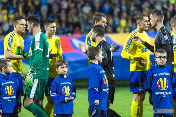 Arka Gdynia – Korona Kielce Polish Cup photo Luka Aliano Tricity News-3