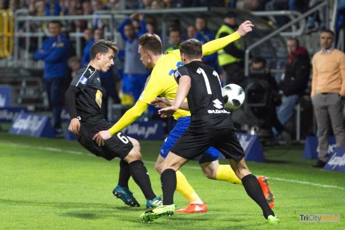 Arka Gdynia – Korona Kielce Polish Cup photo Luka Aliano Tricity News-5