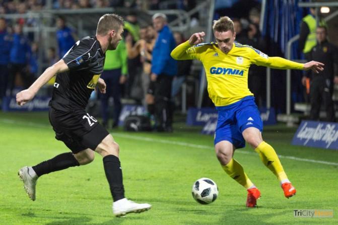 Arka Gdynia – Korona Kielce Polish Cup photo Luka Aliano Tricity News-8