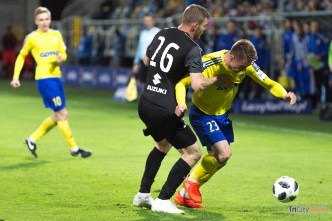 Arka Gdynia – Korona Kielce Polish Cup photo Luka Aliano Tricity News-9