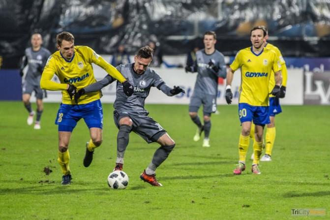 Arka Gdynia – Legia Warsaw photo Luca Aliano Tricity News-11