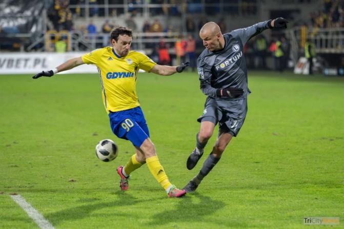 Arka Gdynia – Legia Warsaw photo Luca Aliano Tricity News-12