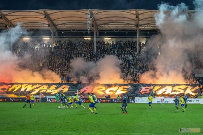 Arka Gdynia – Legia Warsaw photo Luca Aliano Tricity News-13