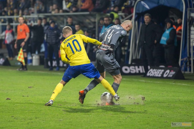 Arka Gdynia – Legia Warsaw photo Luca Aliano Tricity News-15