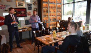 LFA Business Breakfast, photo: Seahawks Gdynia