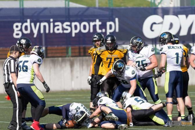 Seahawks Gdynia – Cowbells Budapest photo Luca Aliano Tricity News-12