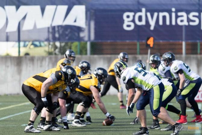 Seahawks Gdynia – Cowbells Budapest photo Luca Aliano Tricity News-19