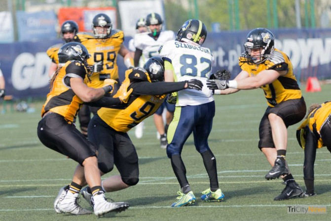 Seahawks Gdynia – Cowbells Budapest photo Luca Aliano Tricity News-21