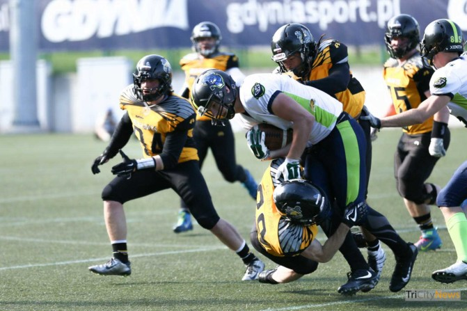 Seahawks Gdynia – Cowbells Budapest photo Luca Aliano Tricity News-22